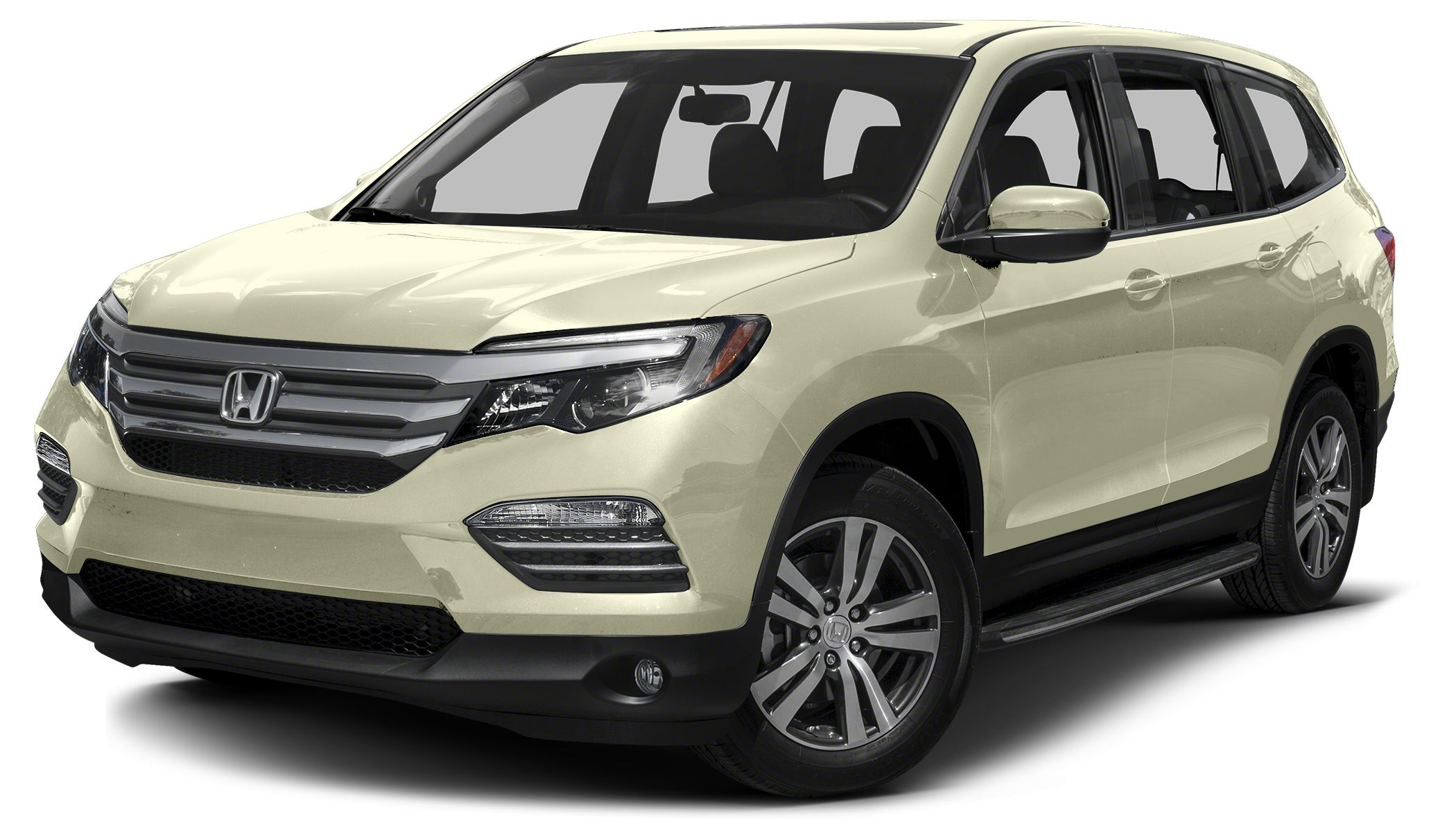 2016 Honda Pilot EX-L w Navigation navigation leather power tailgate one touch 2nd row seats