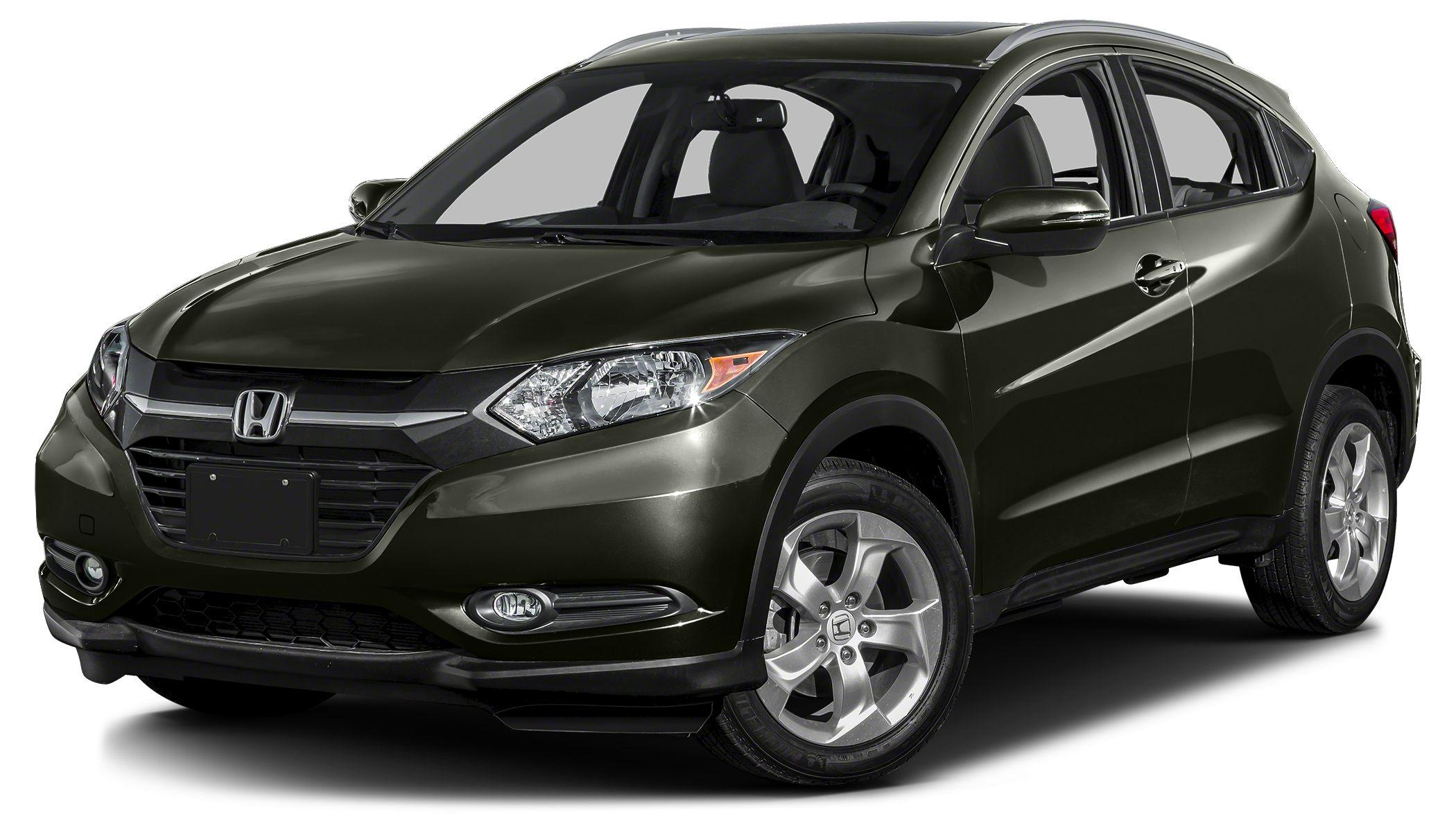 2016 Honda HR-V EX-L w Navigation Lifetime Oil Changes WE help you achieve your dreams of buying