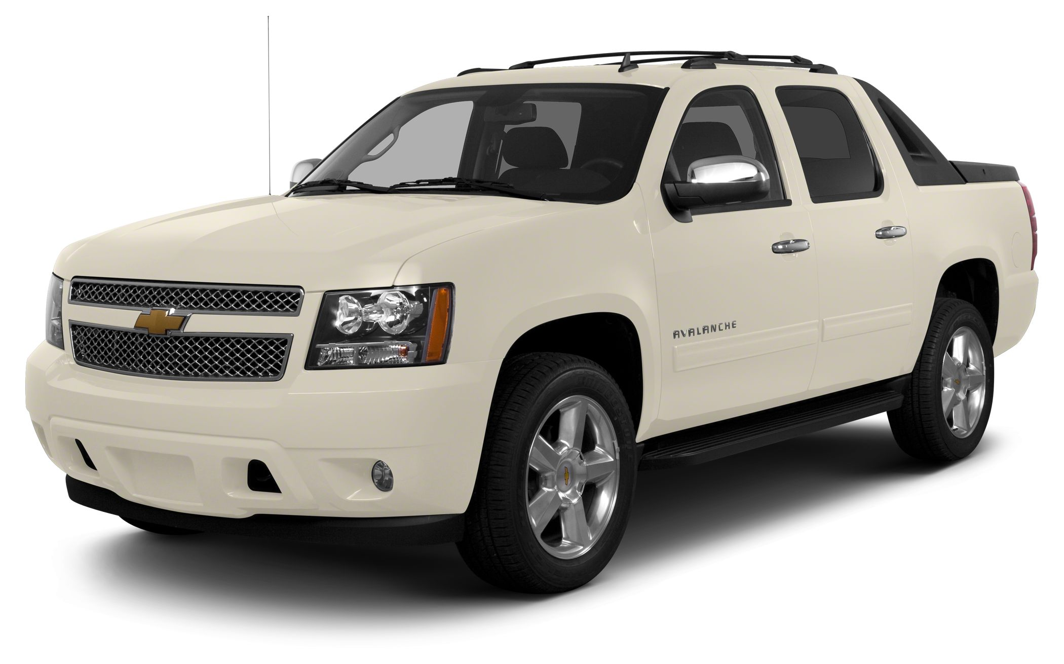 2013 Chevrolet Avalanche LTZ 6-Speed Automatic 20 x 85 Polished Aluminum Wheels CLEAN AUTOCHECK