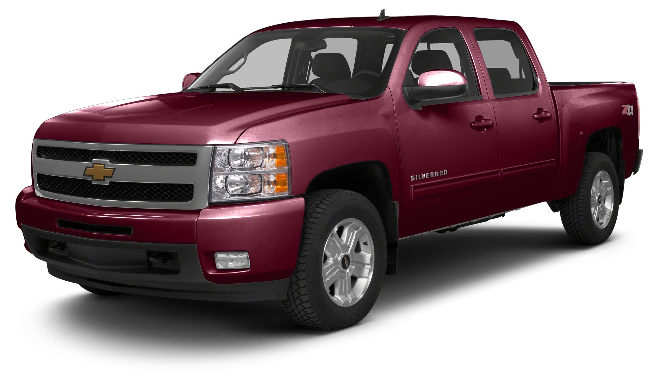 2013 Chevrolet Silverado 1500 LT CREW CAB 4X4 WITH LIFT KIT AND UPGRADED WHEELS AND TIRES LEATH