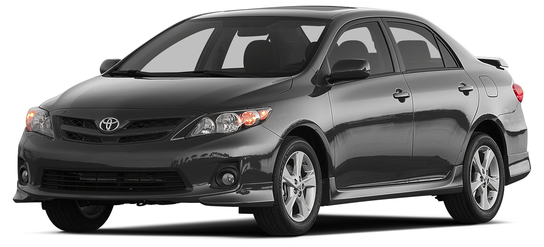 2013 Toyota Corolla S FUEL EFFICIENT 34 MPG Hwy26 MPG City S trim CARFAX 1-Owner Moonroof Blu