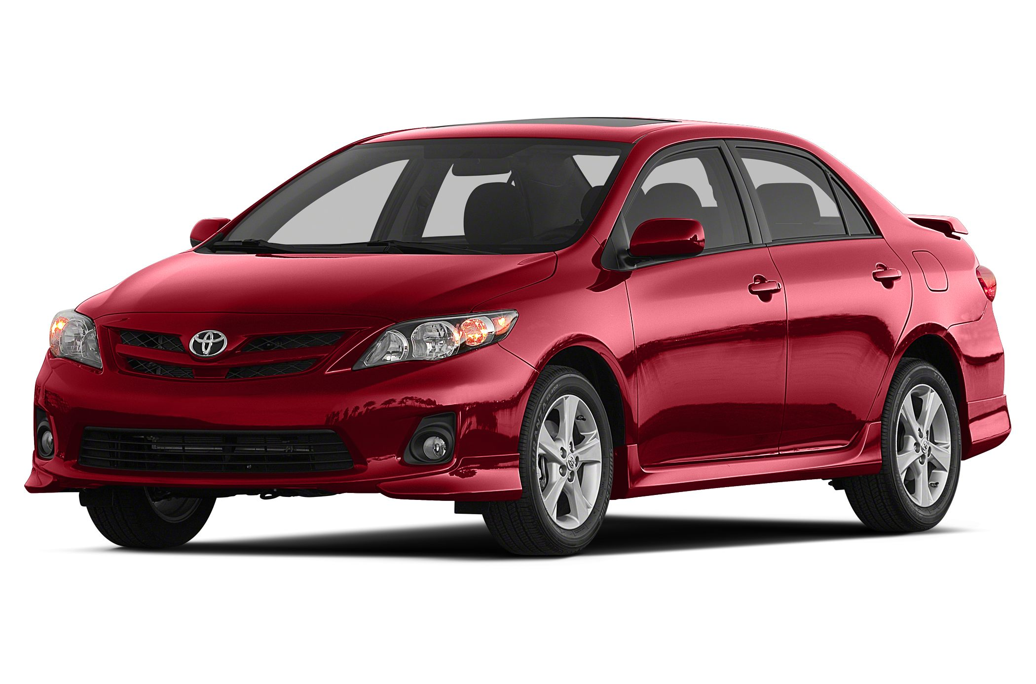 2013 Toyota Corolla S S trim FUEL EFFICIENT 34 MPG Hwy26 MPG City CARFAX 1-Owner Moonroof Blu
