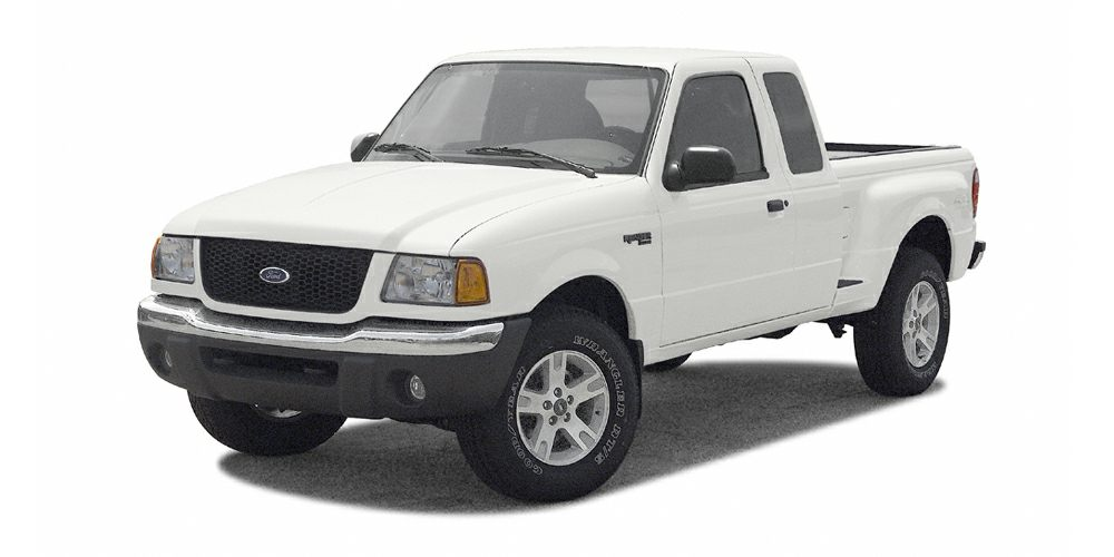 2002 Ford Ranger XLT Miles 193032Color White Stock 16F87A VIN 1FTZR15E12PA84721