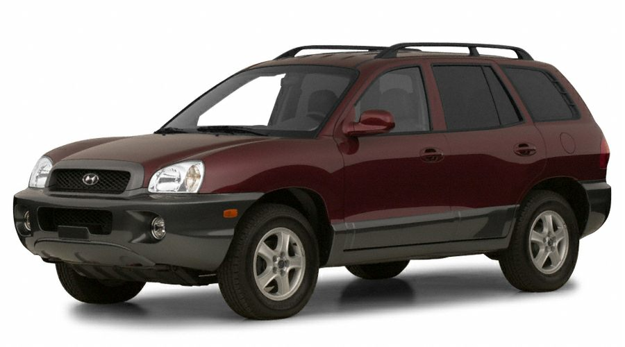 2001 Hyundai Santa Fe GLS Price does not include state and county taxes title and tag fees or 4