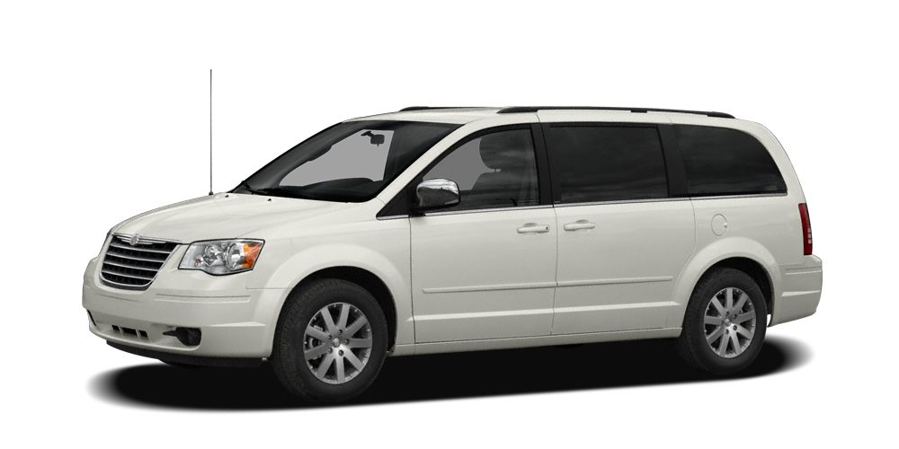 2008 Chrysler Town  Country Touring Miles 128428Color White Stock 16057A VIN 2A8HR54P98R7321