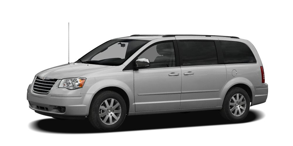 2008 Chrysler Town  Country Touring This Soilver 2008 Chrysler Town and Country Touring has a Cle