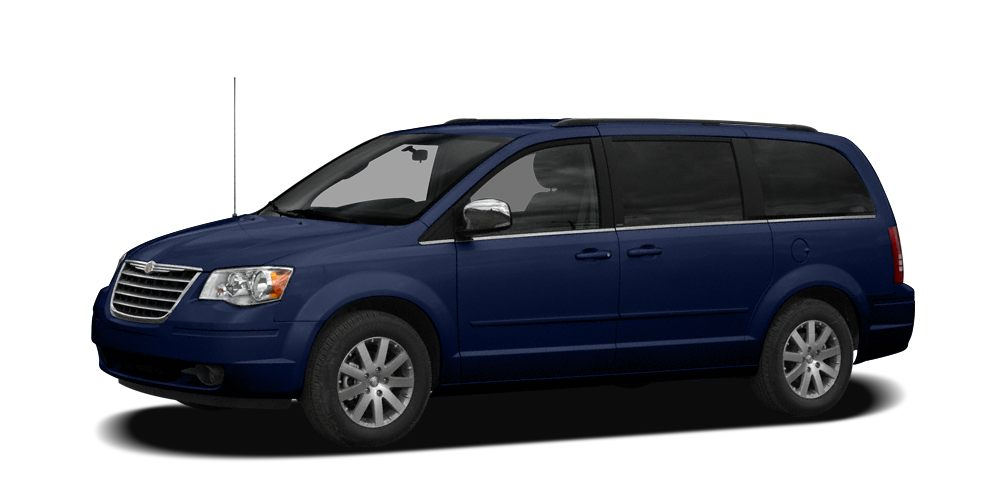 2008 Chrysler Town  Country Touring Touring trim 3rd Row Seat CD Player Rear Air Dual Zone A
