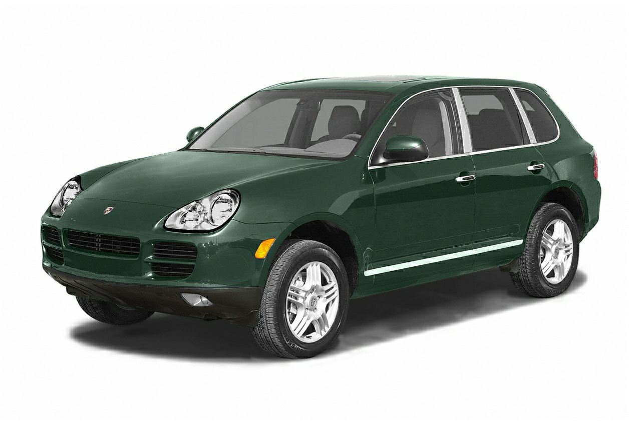 2003 Porsche Cayenne S Miles 60895Color Green Stock 4753P VIN WP1AB29PX3LA60797