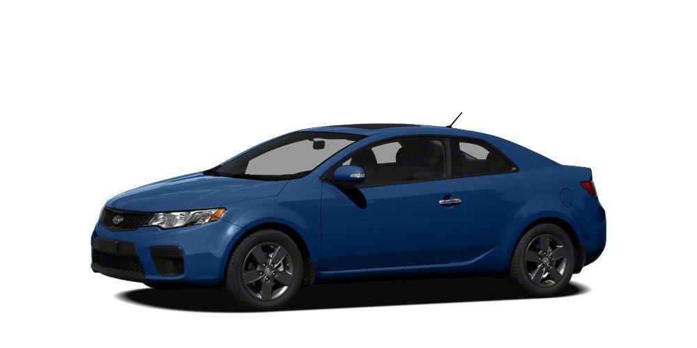 2012 Kia Forte Koup SX Miles 105775Color Blue Stock K16953A VIN KNAFW6A37C5529714
