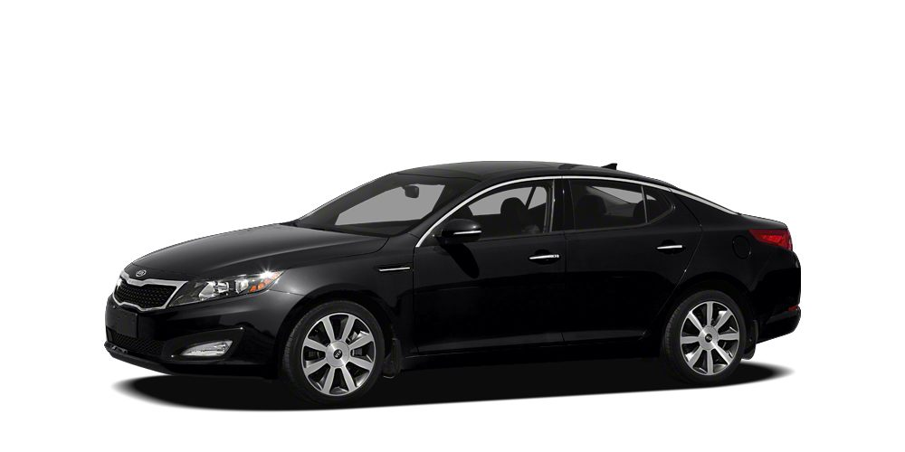 2012 Kia Optima LX Miles 117636Color Black Stock K16399A VIN 5XXGM4A76CG027325