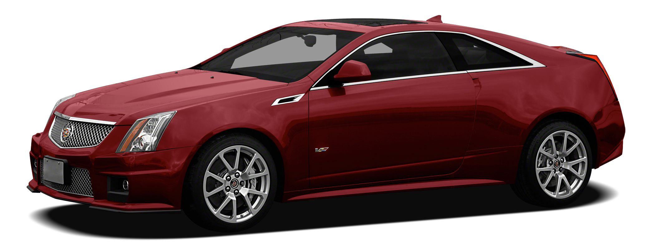 2012 Cadillac CTS-V Base Miles 36655Color Crystal Red Tintcoat Stock N5441 VIN 1G6DV1EP2C012