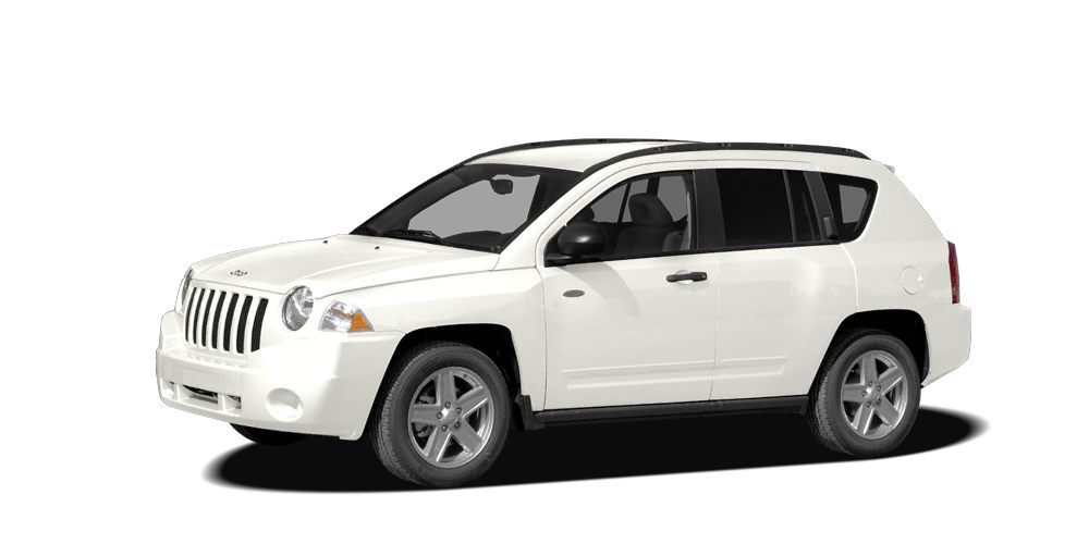 2009 Jeep Compass Limited Miles 96377Color White Stock 4812P VIN 1J4FT57B09D179064