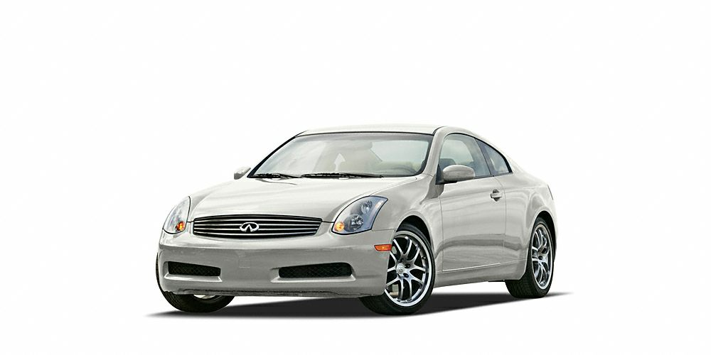 2005 INFINITI G Coupe Sport SUPER RARE G35 WITH A MANUAL TRANS BUILT IN JAPAN AND ITS READY FOR
