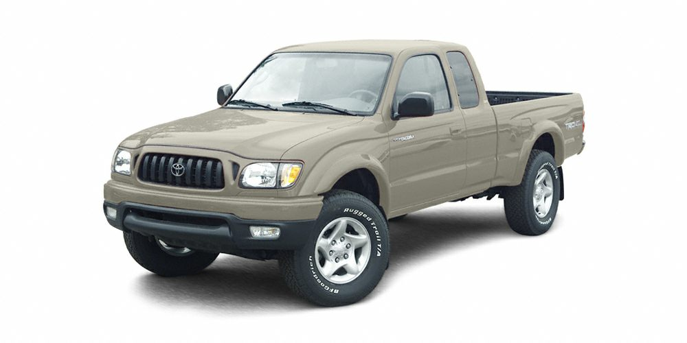 2004 Toyota Tacoma Base LUNAR MIST MET exterior and GRAY interior Tacoma trim FUEL EFFICIENT 19
