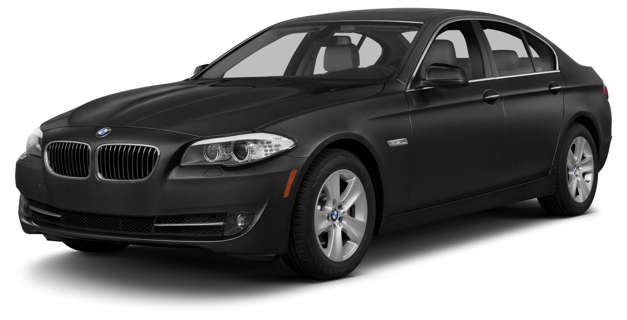 2013 BMW 5 Series 535i M SPORT NAVIGATION SPORT PACKAGE BLACK ON BLACK 535 THIS 535 HAS UPGRAD