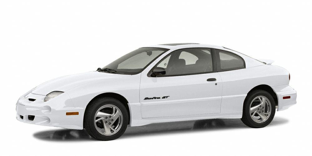 2002 Pontiac Sunfire SE New Arrival AMFM Radio Rear Spoiler Popular color combo This Pontiac