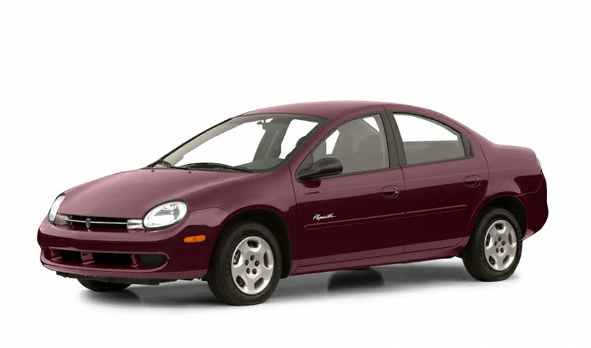 2001 PLYMOUTH NEON LX