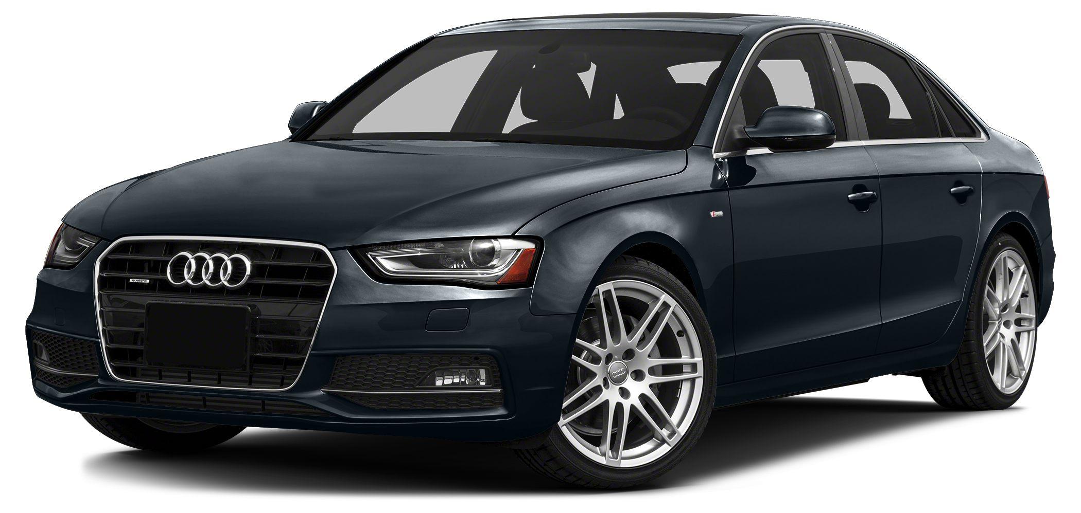 2013 Audi A4 20T quattro Premium 2013 Audi A4 20T Premium Plus Quattro Sedan Moonlight Blue M