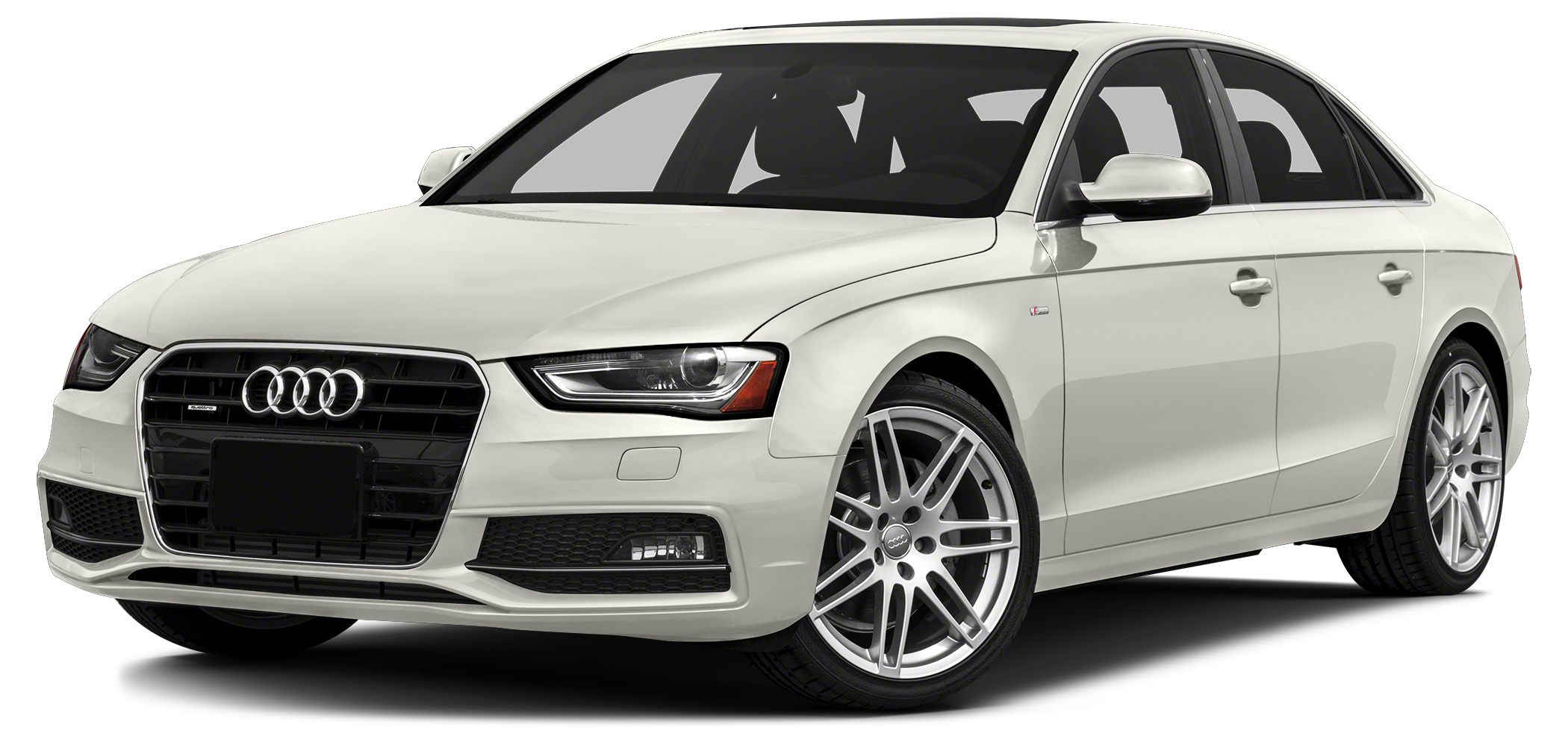 2013 Audi A4 20T Premium NICE A4 WHITE WITH BROWN LEATHER GARAGE KEPT SERVICE RECORDS DEALER