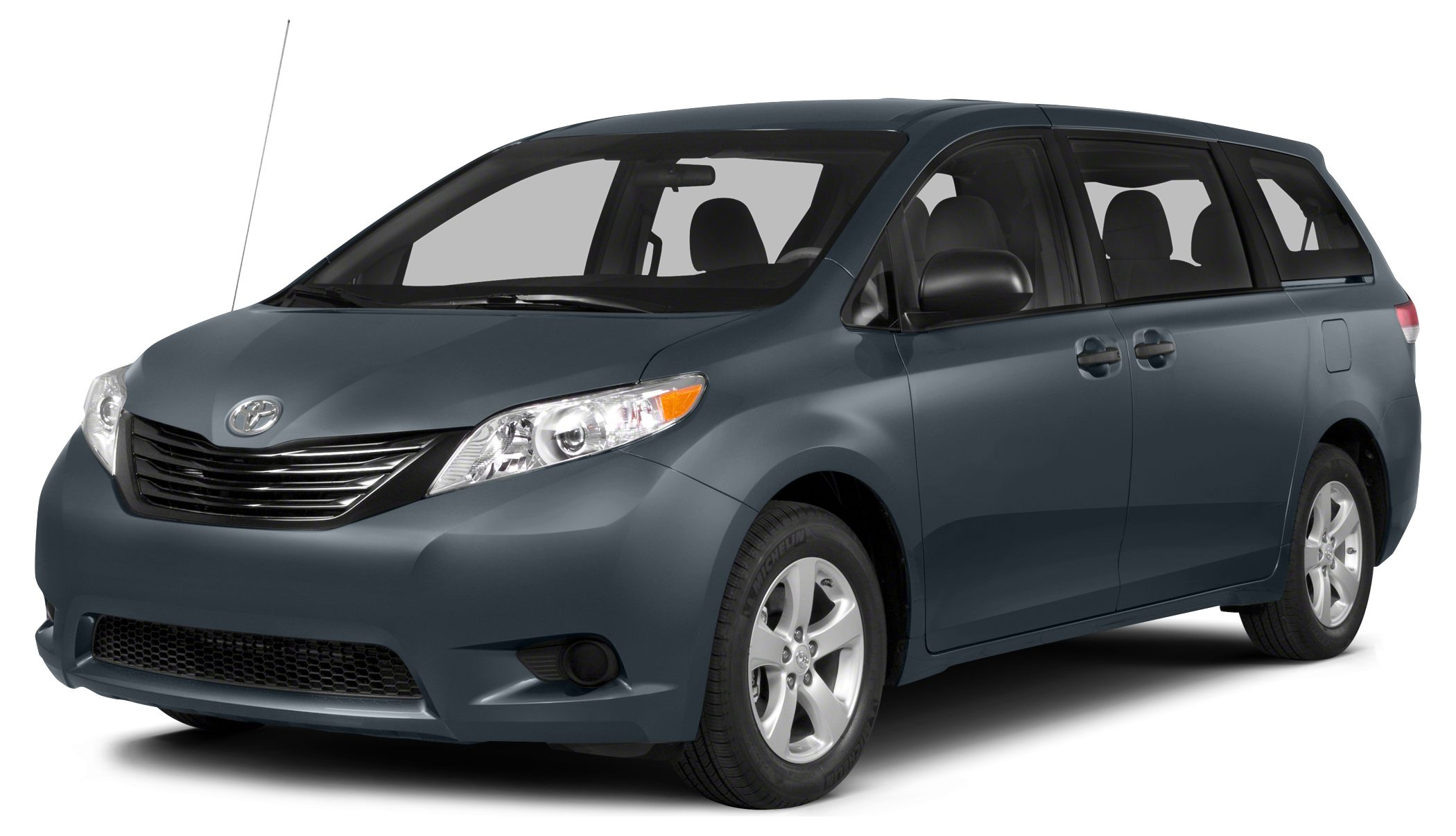 2014 Toyota Sienna LE 7 Passenger 2014 Toyota Sienna LE Shoreline Blue Pearl CARFAX One-Owner 16