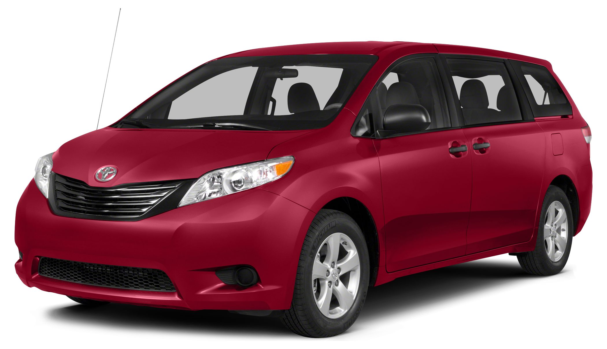2014 Toyota Sienna LE 8 Passenger CARFAX 1-Owner FUEL EFFICIENT 25 MPG Hwy18 MPG City 3rd Row S