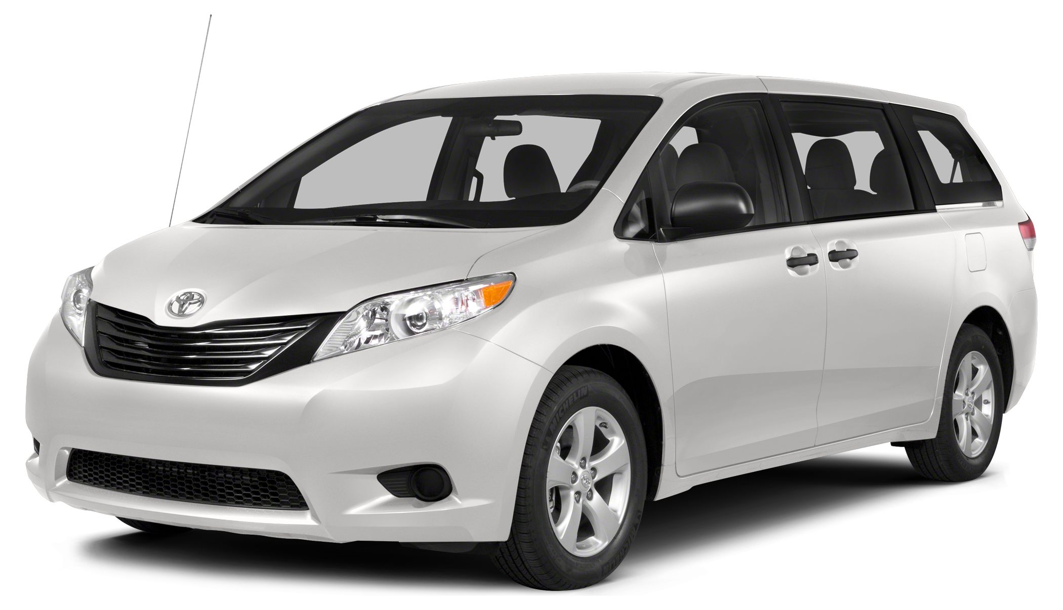 2014 Toyota Sienna LE 8 Passenger EPA 25 MPG Hwy18 MPG City CARFAX 1-Owner LOW MILES - 35654