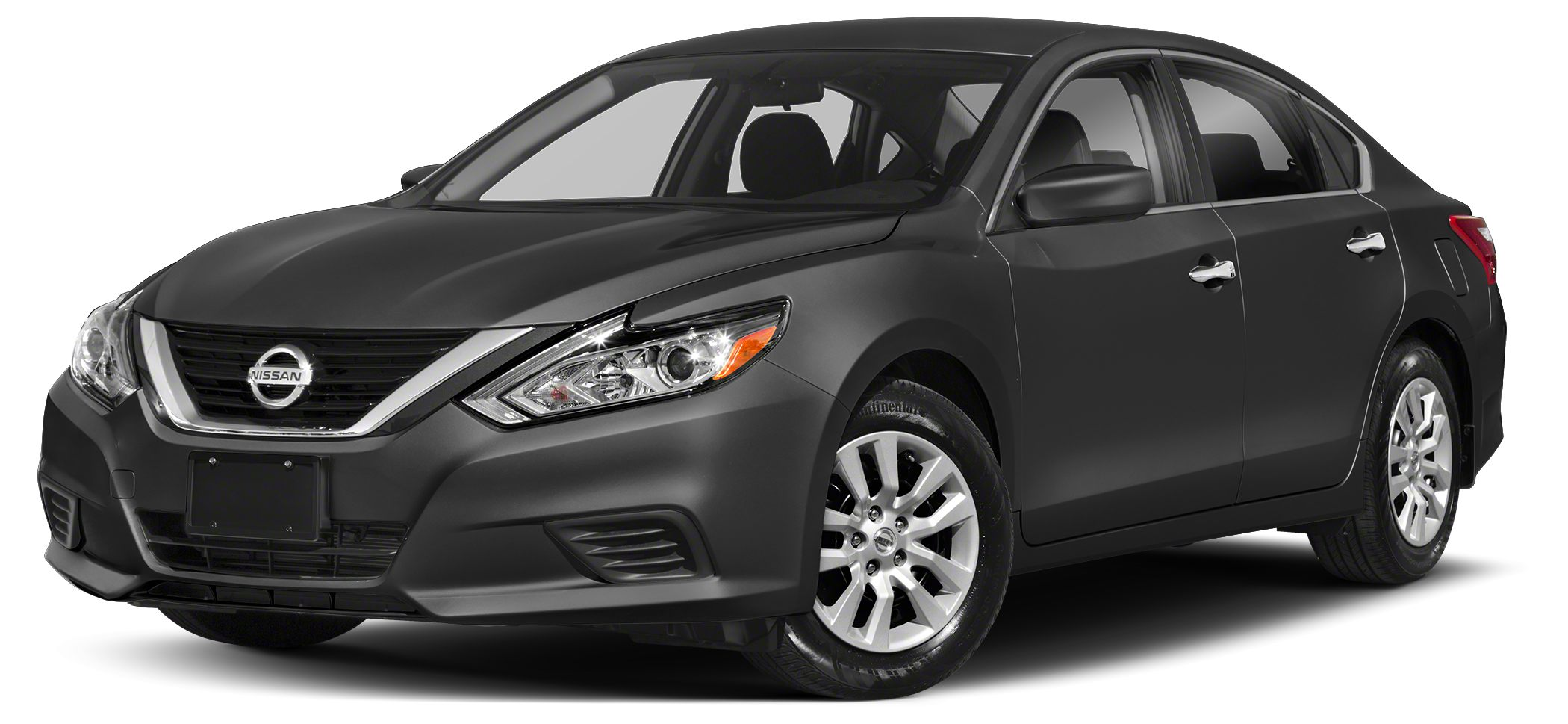 2018 Nissan Altima 25 S The premium exterior design of the 2018 Nissan Altima from the powerful