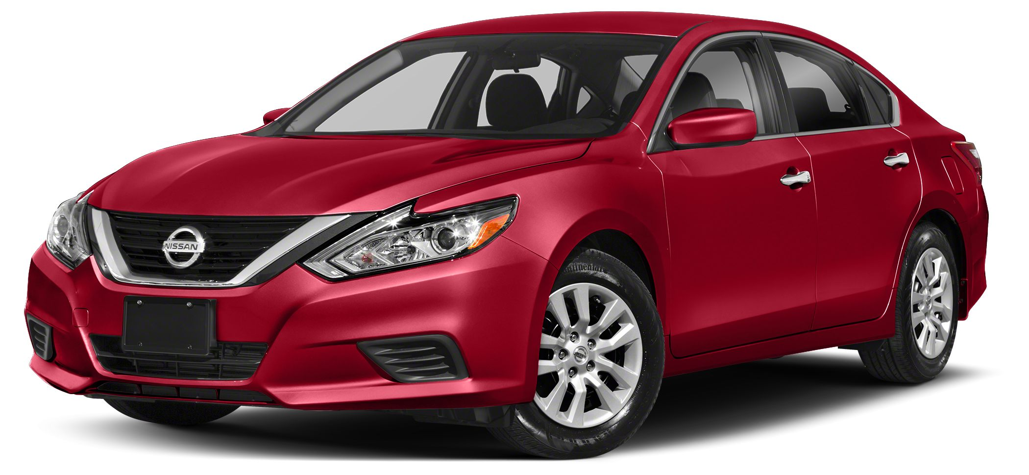 2018 Nissan Altima 25 SV The premium exterior design of the 2018 Nissan Altima from the powerful