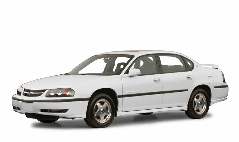 2001 Chevrolet Impala Base Color White Stock 615927A VIN 2G1WF52E81930421