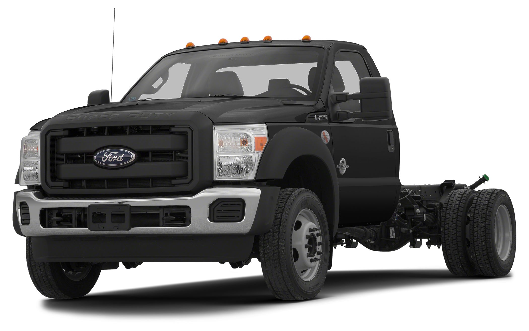 2013 FORD F-550 CHASSIS CAB XL