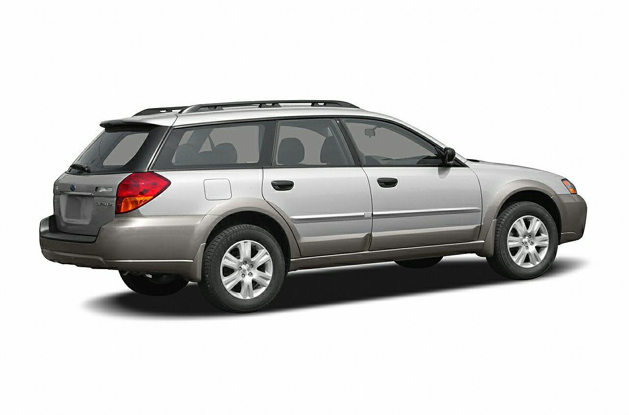 2006 Subaru Outback 25i Vehicle Options 4WDAWD Driver Multi-Adjustable Power Seat Power windows