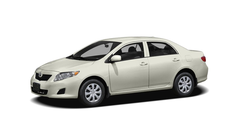 2010 Toyota Corolla LE CARFAX 1-Owner FUEL EFFICIENT 34 MPG Hwy26 MPG City LE trim SUPER WHITE