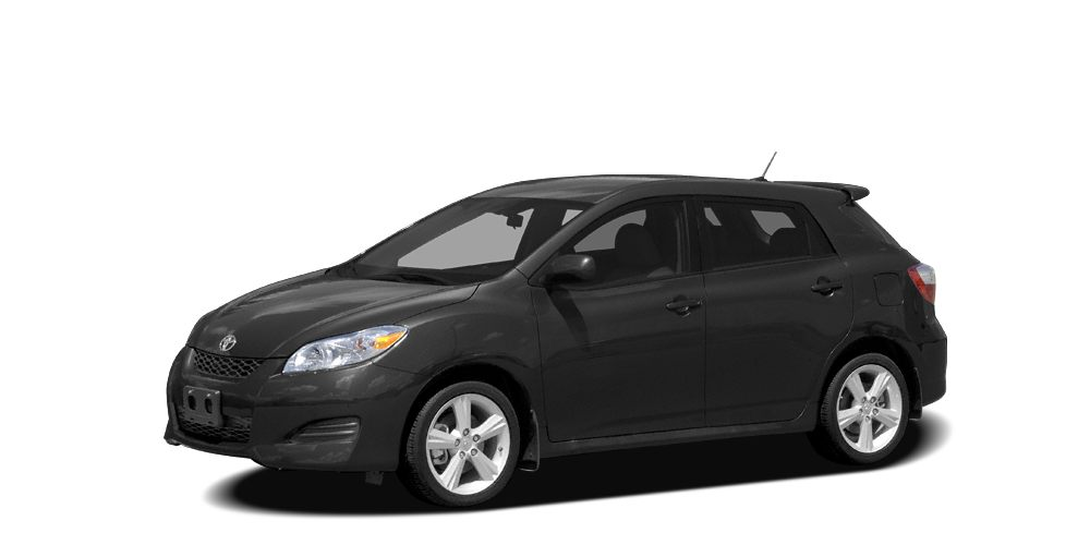 2010 Toyota Matrix S BLACK SAND PEARL exterior and ASH interior S trim ONLY 70857 Miles All Wh