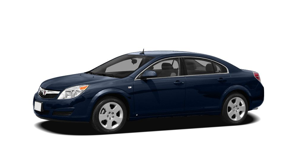 2009 Saturn Aura XE-4 BLUE exterior and GRAY interior 33 MPG Hwy22 MPG City 12000 Mile Warranty