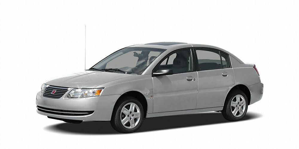 2007 Saturn ION 3 Miles 191093Color Silver Stock SB15898B VIN 1G8AL58BX7Z136022