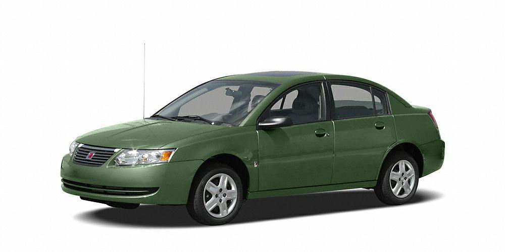 2007 Saturn ION 2 32 MPG Highway  Miles 84926Color Cypress Green Stock 0703608 VIN 1G8AJ5