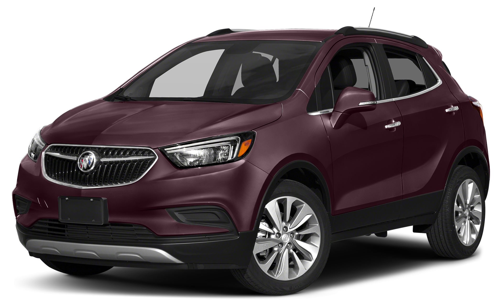 2018 Buick Encore Preferred II Color Black Cherry Metallic Stock C1656 VIN KL4CJFSB3JB679242