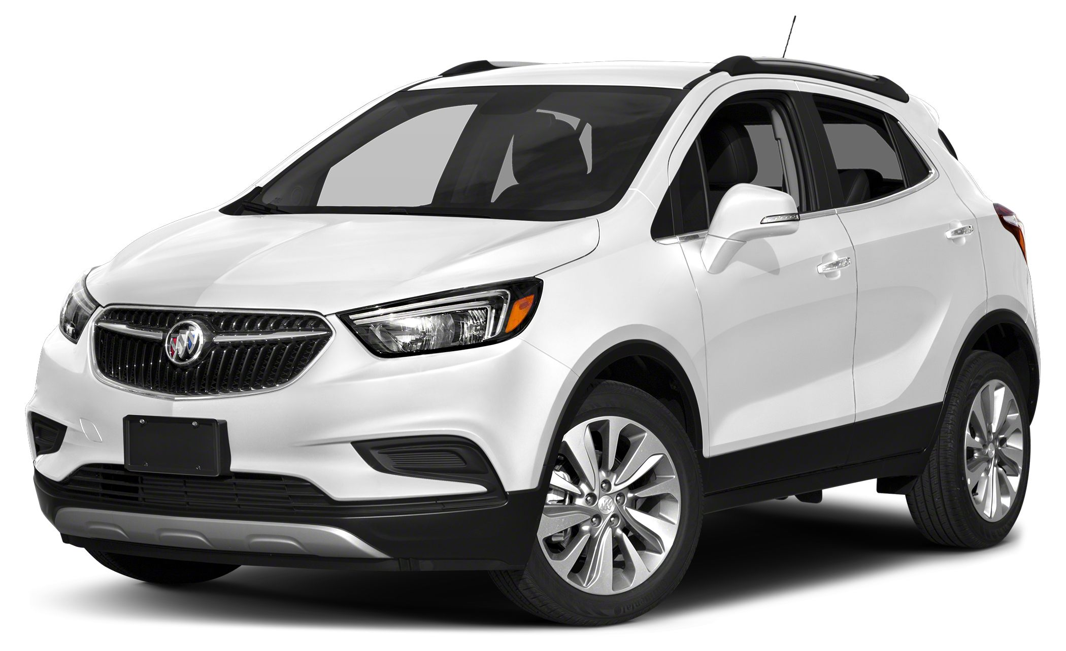 2018 Buick Encore Preferred II Color Summit White Stock C1658 VIN KL4CJFSB6JB701492