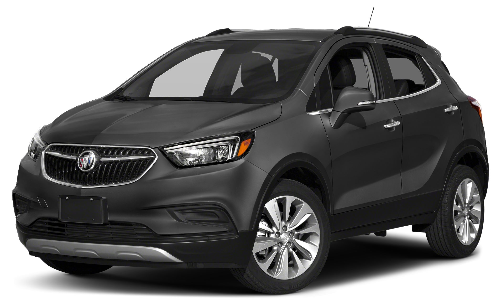 2017 Buick Encore Preferred Miles 5Color Graphite Gray Metallic Stock H096561 VIN KL4CJASB0H