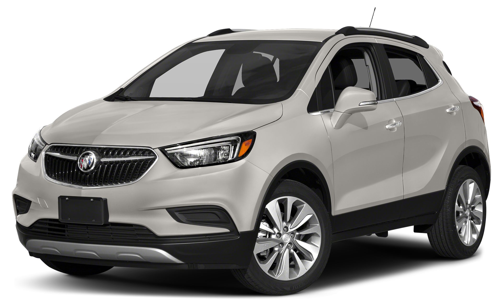 2017 Buick Encore Sport Touring Miles 5Color White Frost Metallic Stock H093688 VIN KL4CJ1SB