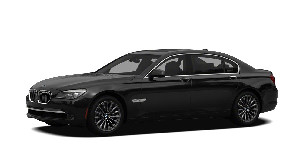 2012 BMW 7 Series 740Li M SPORT PACKAGE BLACK ON TAN COOLED SEATS LUXURY SEATS HID HEADLIGHTS