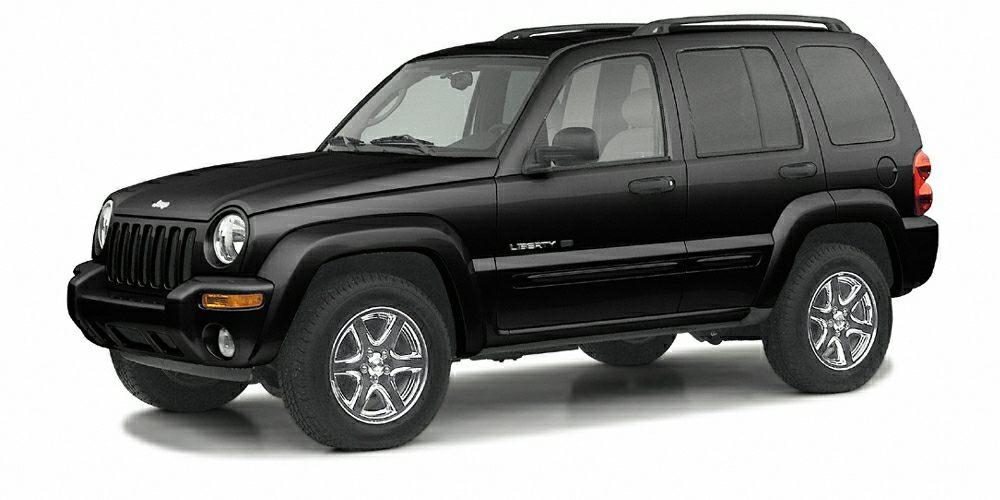 2003 Jeep Liberty Sport Miles 252140Color Black Stock H55041A VIN 1J4GL48K53W706363