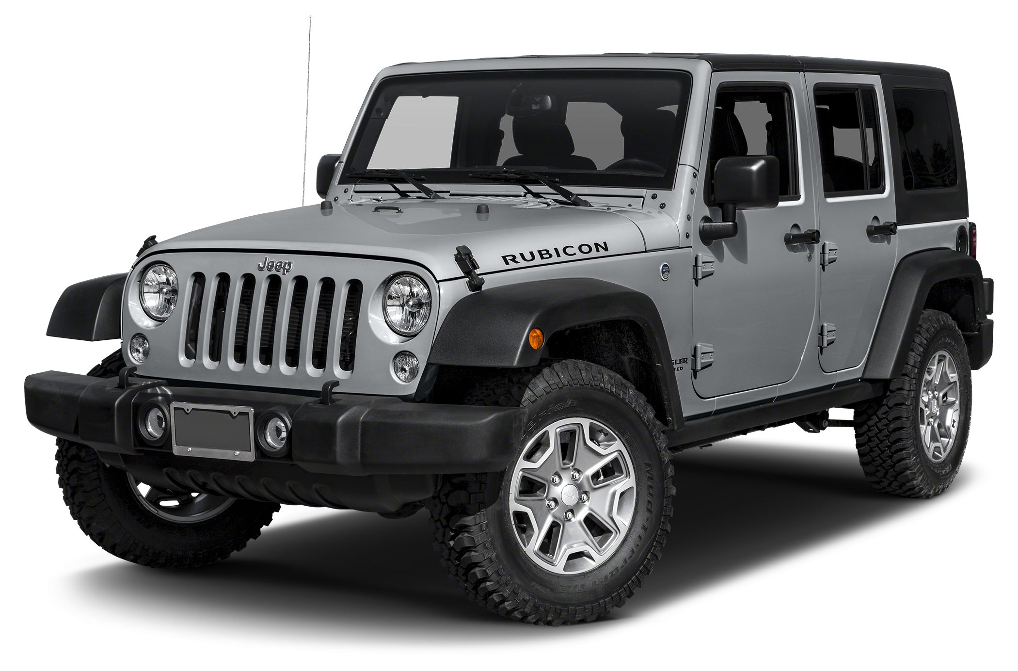 2016 Jeep Wrangler Unlimited Rubicon Color Billet Silver Clearcoat Metallic Stock 16S707 VIN