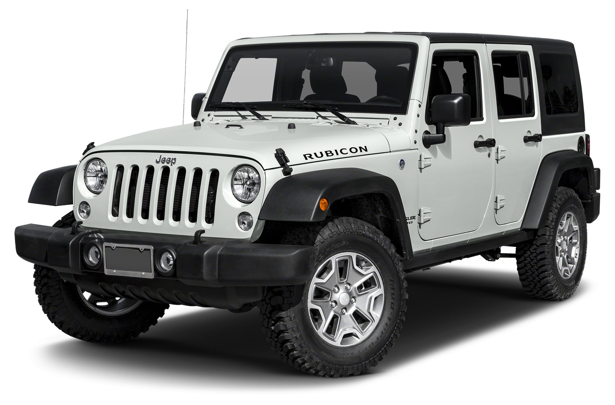 2015 Jeep Wrangler Unlimited Rubicon Color White Stock JW2818A VIN 1C4BJWFG1FL628475