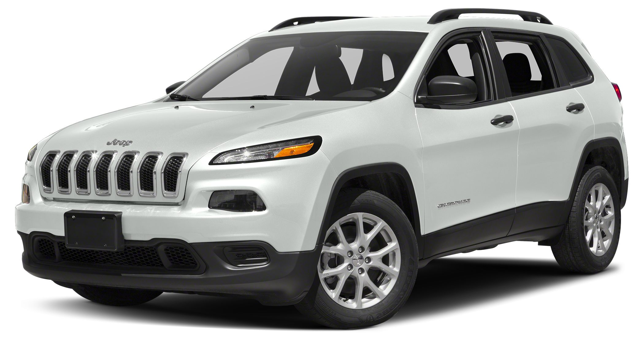 2017 Jeep Cherokee Sport CARFAX One-Owner Clean CARFAX Bright White Clearcoat 2017 Jeep Cherokee