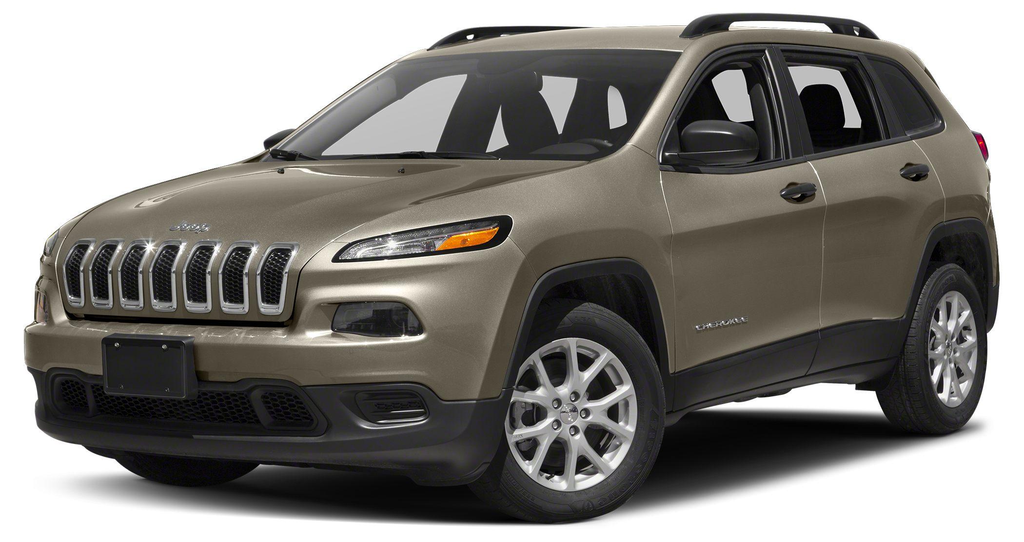 2016 Jeep Cherokee Sport Miles 4Color Light Brownstone Pearlcoat Stock JC366 VIN 1C4PJMAS6GW