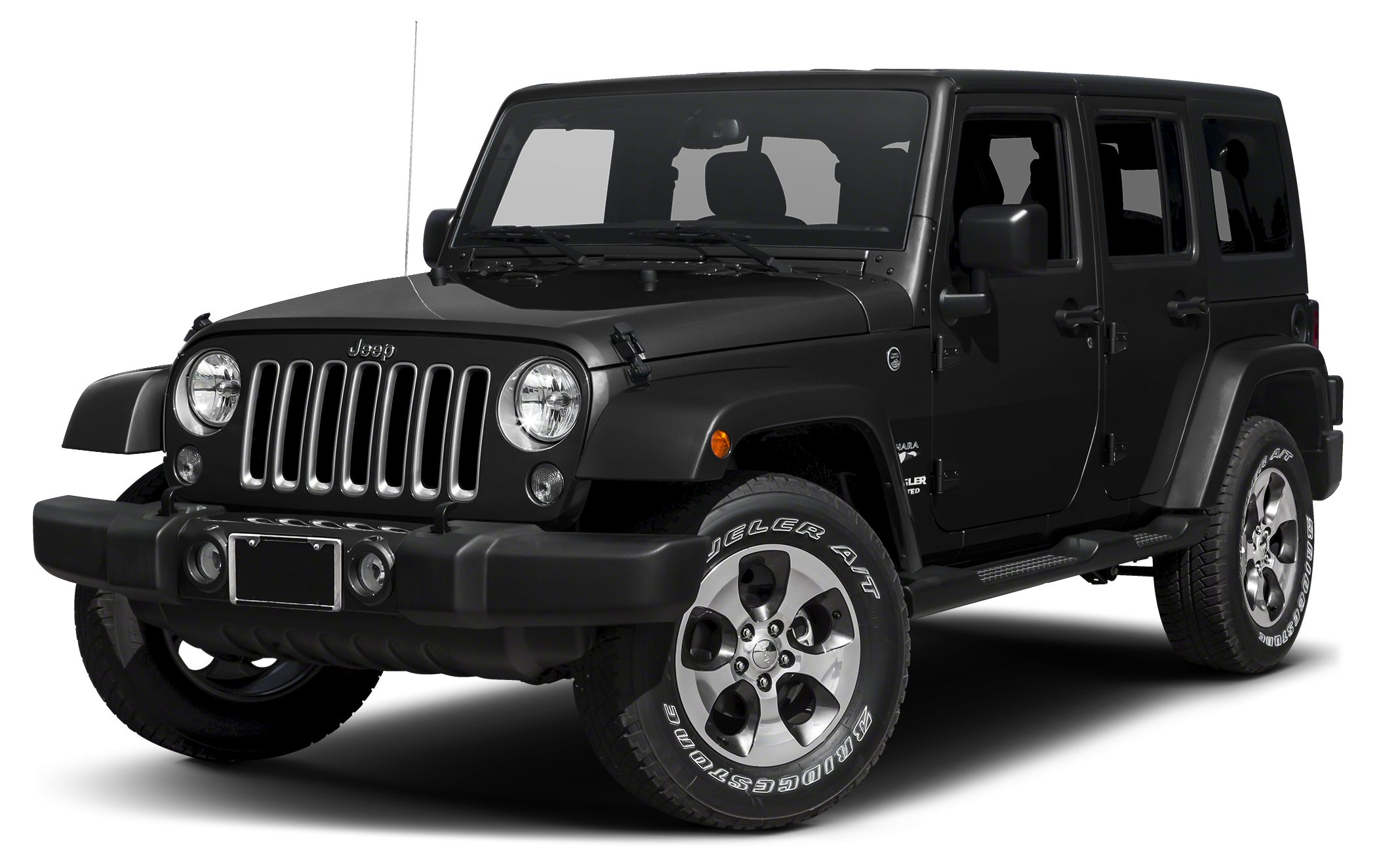 2015 Jeep Wrangler Unlimited Sahara Miles 52995Color Black Clearcoat Stock 951 VIN 1C4BJWEG9