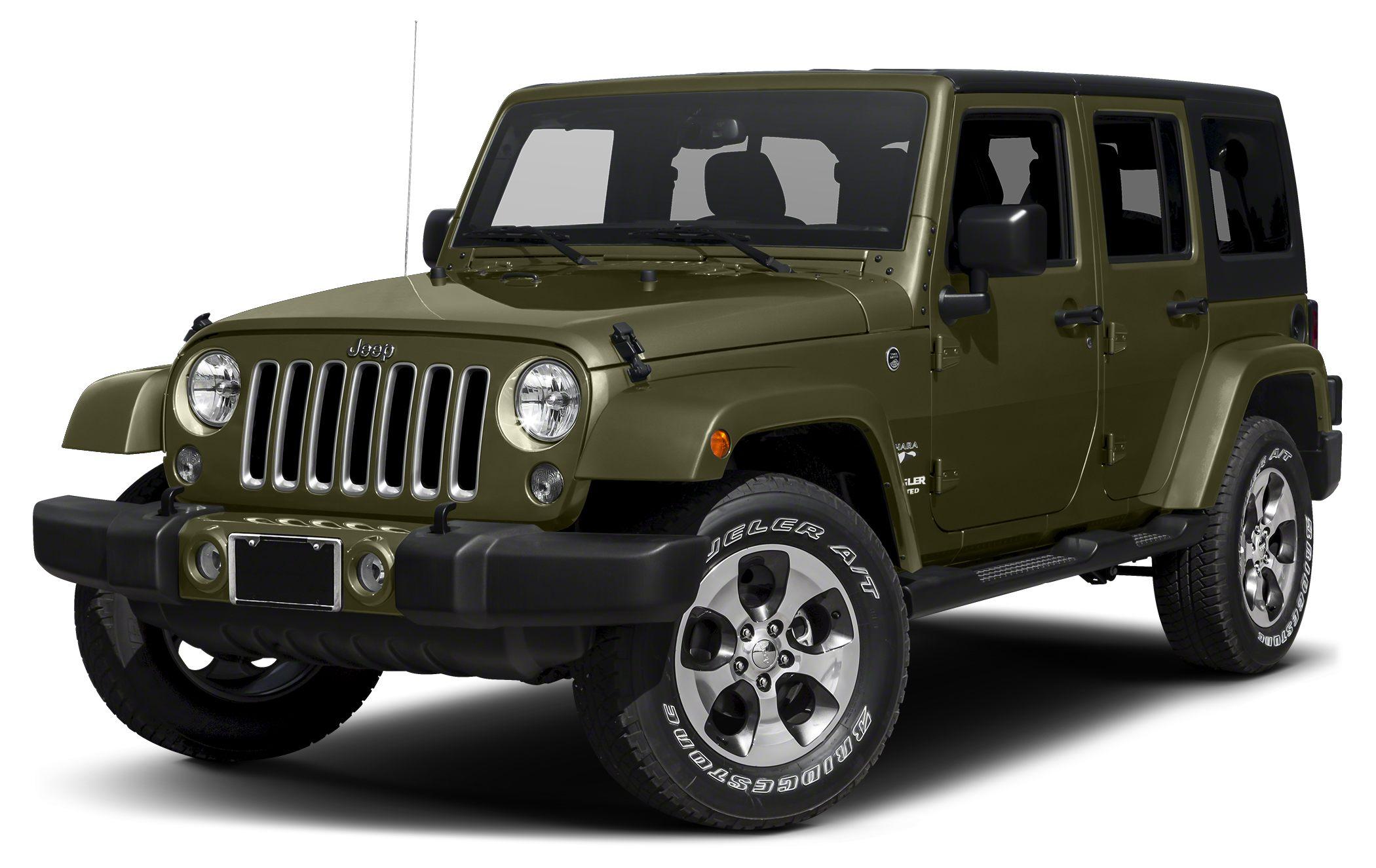 2016 Jeep Wrangler Unlimited Sahara Color Sarge Green Stock 16S804 VIN 1C4BJWEG8GL309142