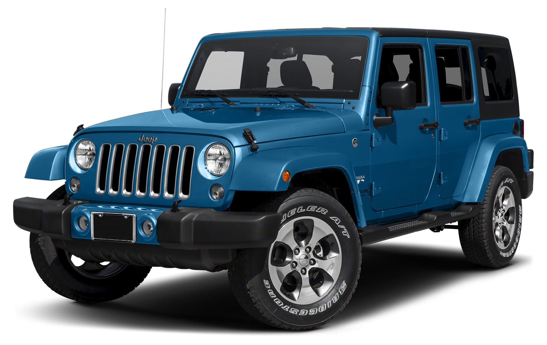 2016 Jeep Wrangler Unlimited Sahara Color Hydro Blue Pearlcoat Stock 16S656 VIN 1C4BJWEG0GL30