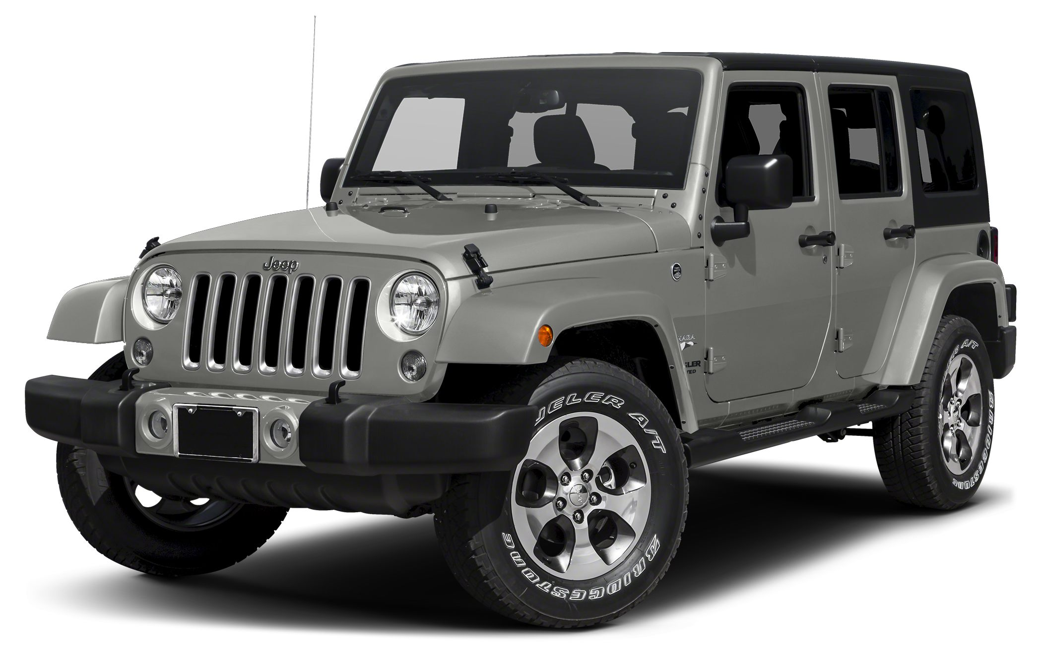 2015 Jeep Wrangler Unlimited Sahara Miles 24433Color Billet Silver Clearcoat Metallic Stock JG